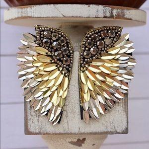 Statement Angel Wing Earrings